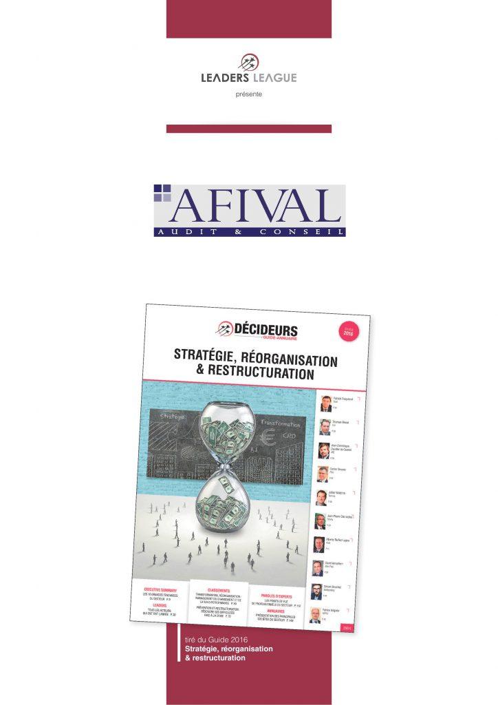 Auditeurs et conseils financiers leaders league - Classement cabinet conseil ...