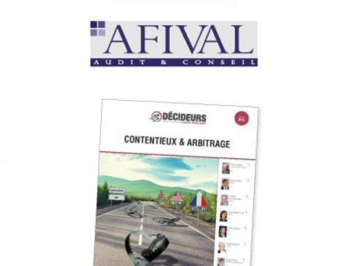 Afival in Leaders League 2016: Litigation and Arbitration